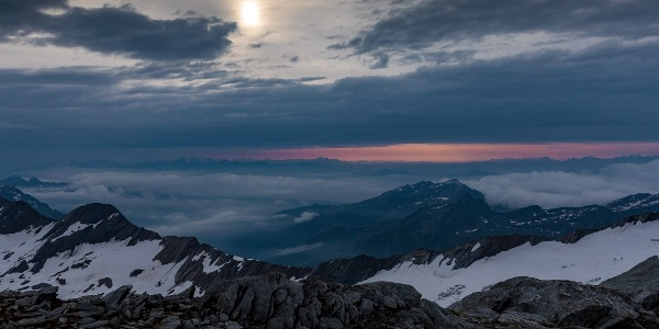 Blick nach Südtirol.