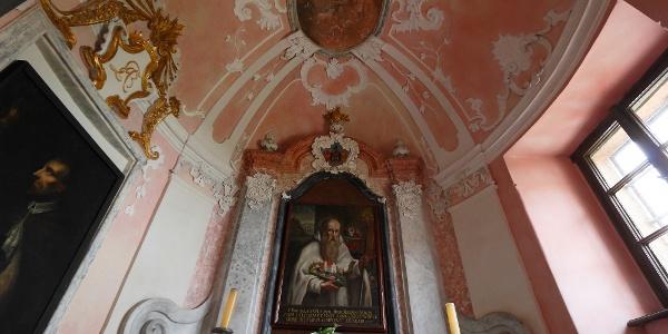 Kápolna a majki kamalduli remeteség