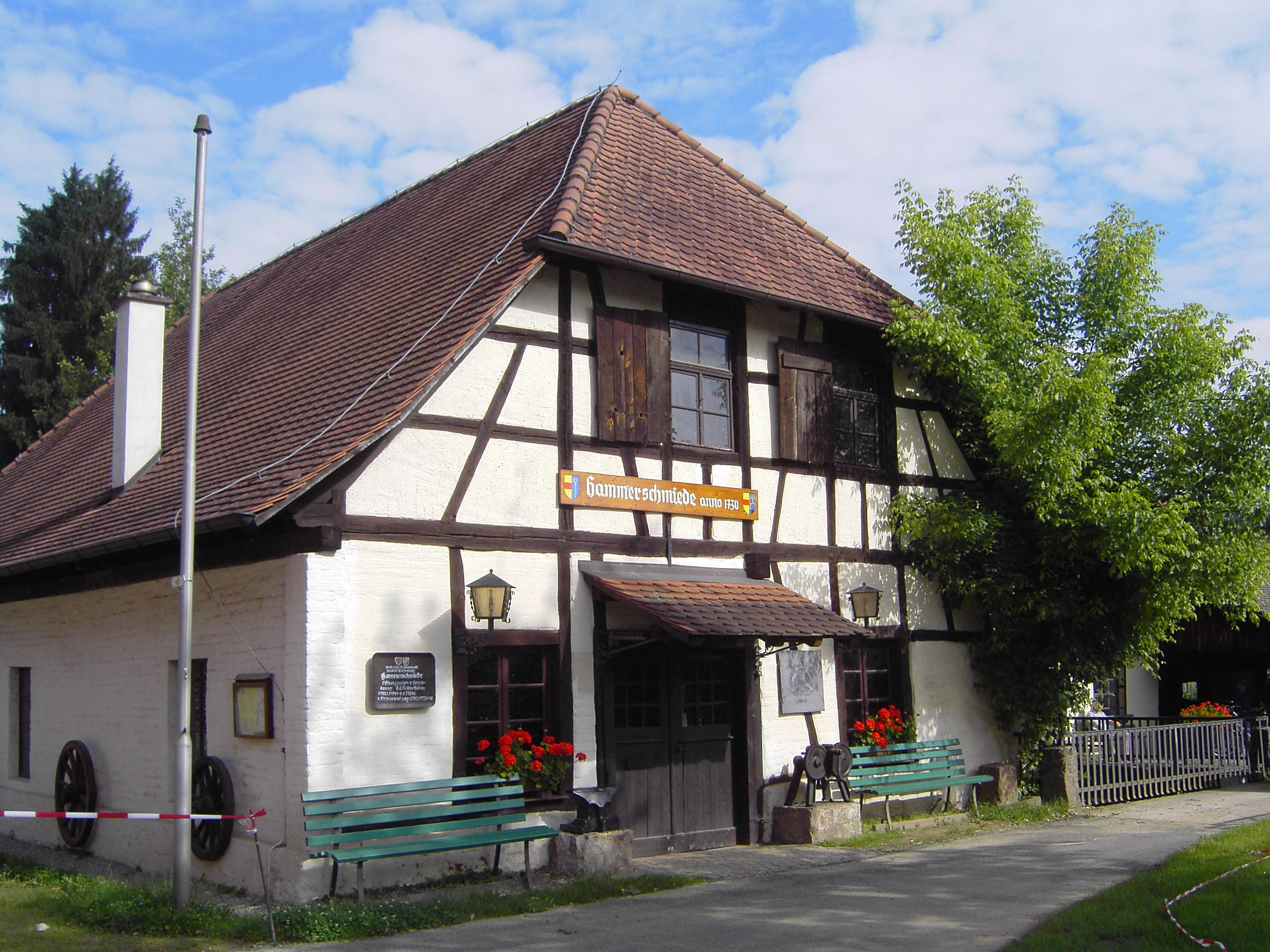 Hammerschmiede, Vereinsheim des Schwarzwaldvereins Reichenbach