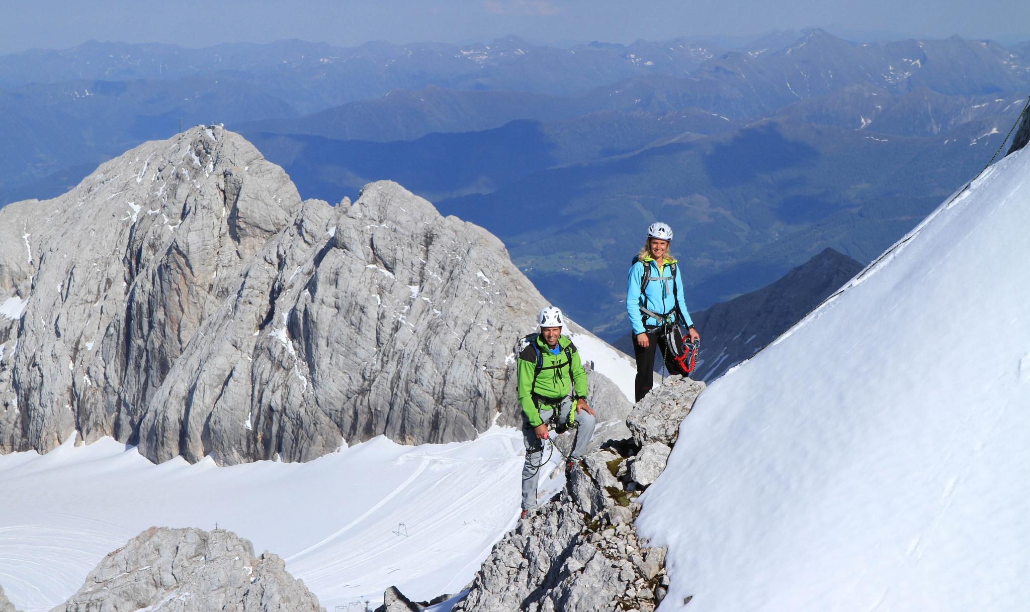 Klettersteig Ramsau : Klettersteig ramsau stockfoto bildagentur panthermedia
