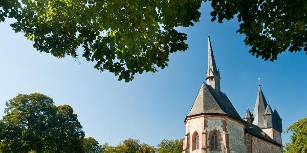 Martinskirche auf dem Christenberg bei Münchhausen