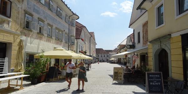 Radovljica mit seiner sehenswert4en Altstadt