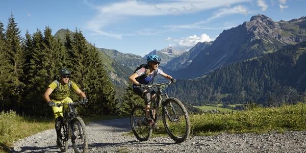 Mountainbike Au-Schoppernau