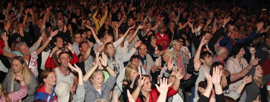 Riesen-Stimmung beim Siegener Stadtfest