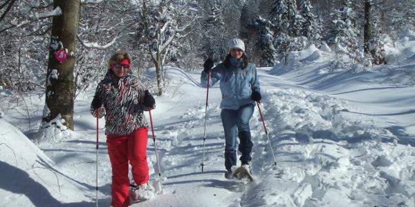 Schneeschuhtour 1 - Weiherplatz