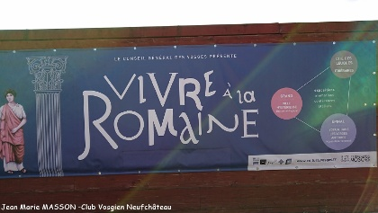 """Grand """" La Romaine"""" arrivée amphithéâtre"""