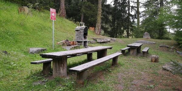 Picknick Stelle Berisal