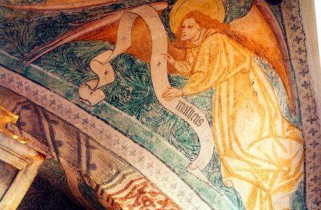 Fresken in der Kirche von Mitteraubach