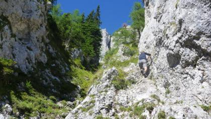 Aufstieg auf den Uschowa