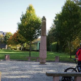 Schinderhannes-Radweg - Start am Bahnhof Pfalzfeld
