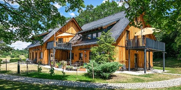 Außenansicht Gästehaus Schlosshalbinsel