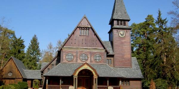 Kapelle auf dem Friedhof in Stahnsdorf 2
