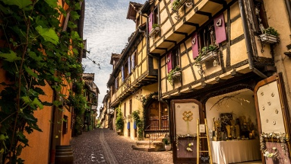 Riquewihr's Fairytale Streets