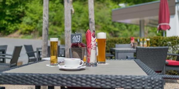 Biergarten der Thalhauser Mühle