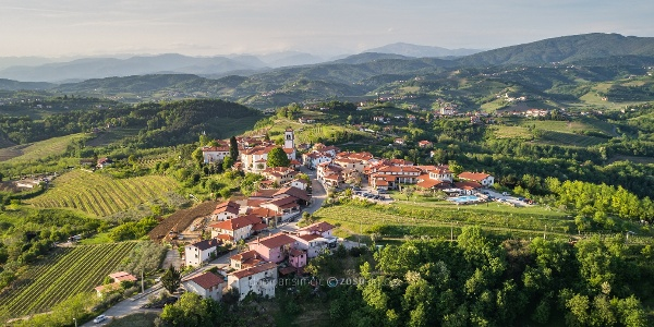 Medana, Birthplace of Poet Alojz Gradnik