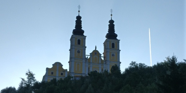 Etappenstartpunkt: Basilika Minor von Graz-Mariatrost