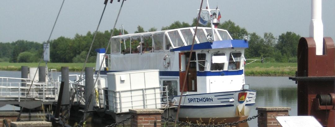 Die MS Spitzhörn im Barßeler Hafen