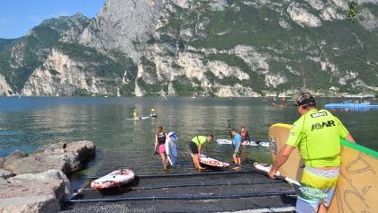 SUP: Purfina am Gardasee