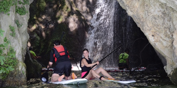 SUP: Waterfall Cascata del Ponale