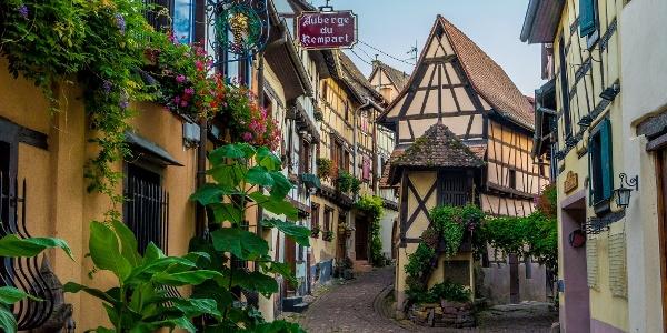 The Rue du Remparts
