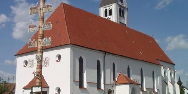 Pfarrkirche St. Jakobus major in Markt Rettenbach