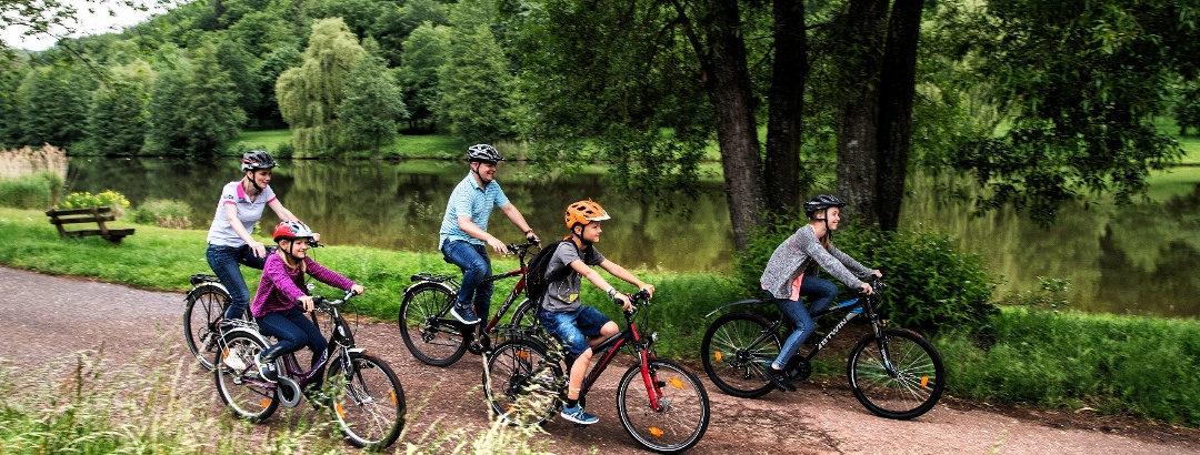 Familien-Radtour auf dem Klingbachradweg