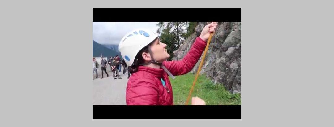 Klettertag in Latschau im Montafon   Vorarlberg