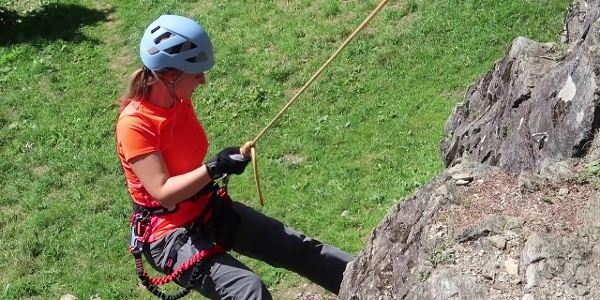 Klettergarten Rifa in Partenen   BergePLUS Programm   Montafon