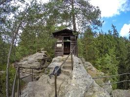 Foto Die Schlegelhütte am Hermannseck