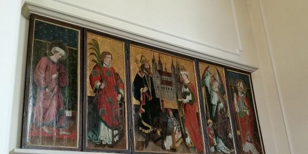 Detail im Inneren der Lorenzkirche