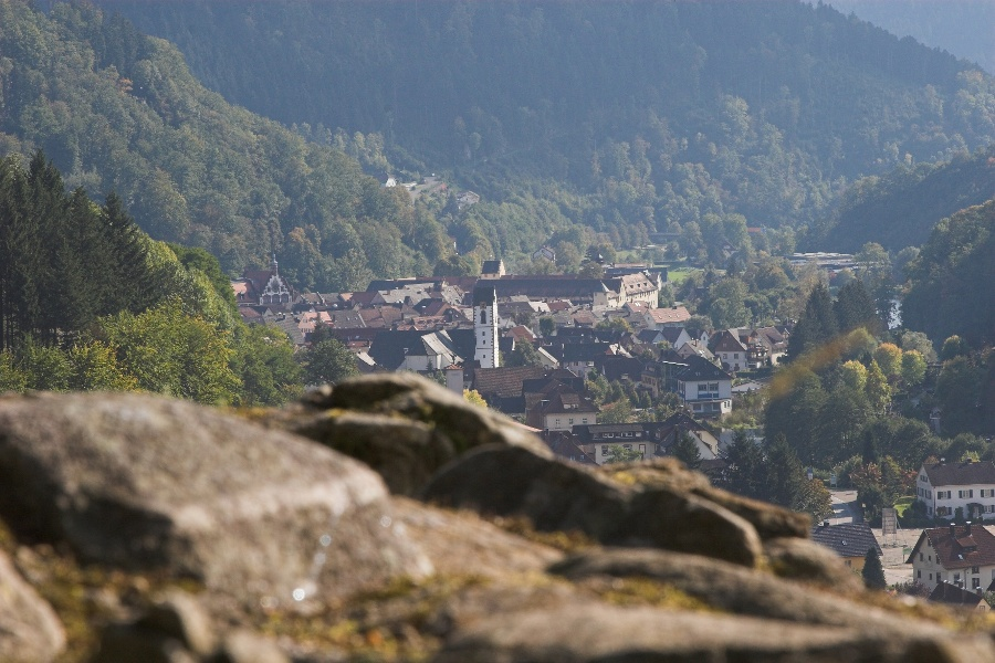 Panoramatour zum Wolfacher Schlössle