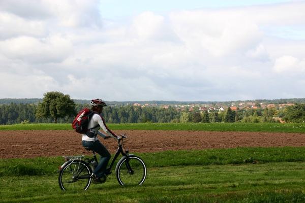 """E-Bike Tour """"Genuss Pur - Radeln und Schlemmen"""""""