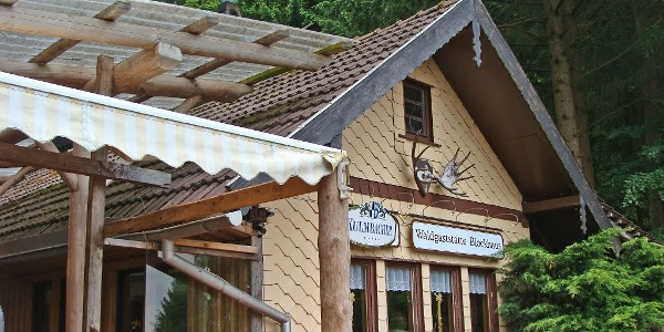 """Berghütte """"Blockhaus"""""""