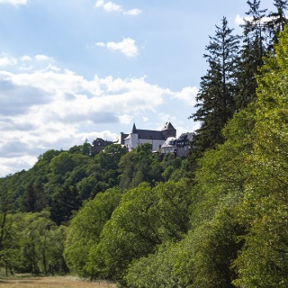Blick auf Wildenburg