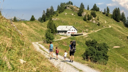 Hiking at the Hochhäderich