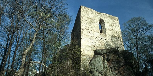 Burgsteinruine