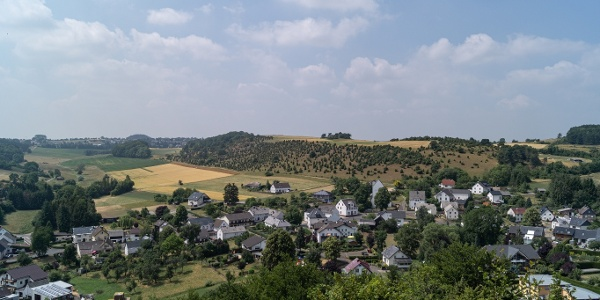 Ausblick über Alendorf