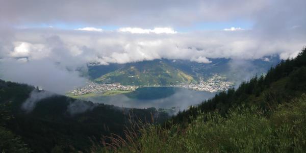 Blick auf den Zelller See