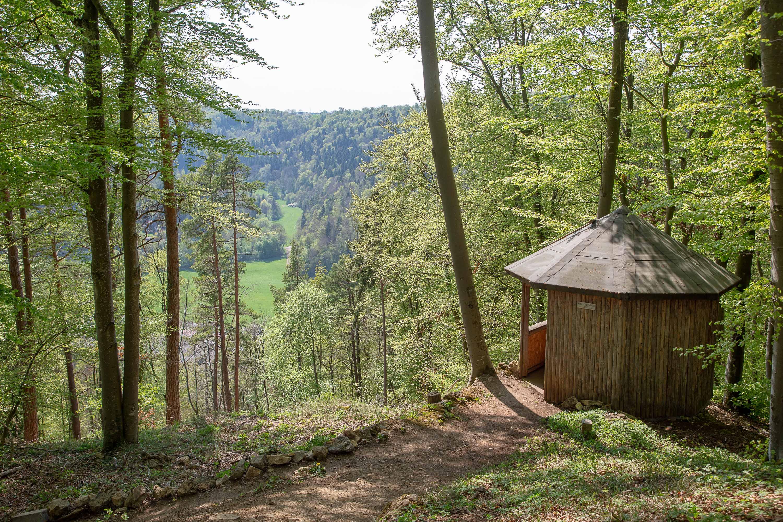 Eichhörnchenweg Schutzhütte