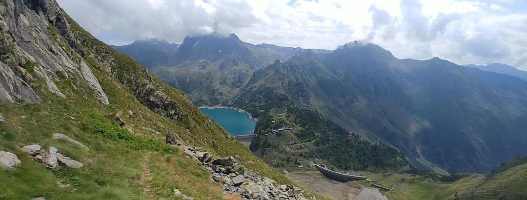 Il lago del Barbellino.