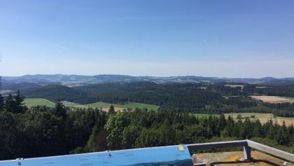 Blick vom Eisenberg in Richtung Sauerland
