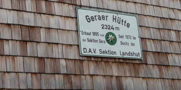 Geraer Hütte 18.08.2019