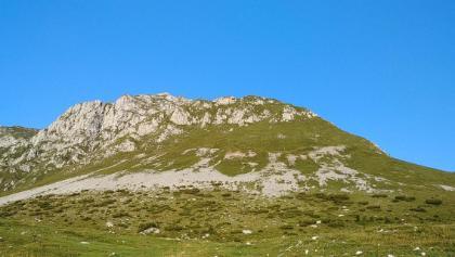 monte Secco, si sale per la cresta a destra