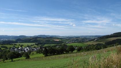 Panoramablick bei Holthausen
