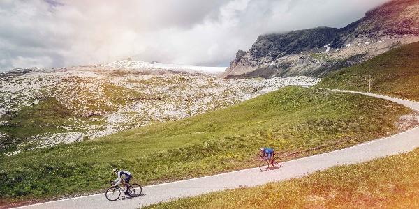 Radfahrer, Sanetschpass