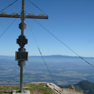 Gipfelkreuz Hochobir