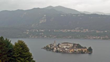 Blick auf die Isola San Giulio