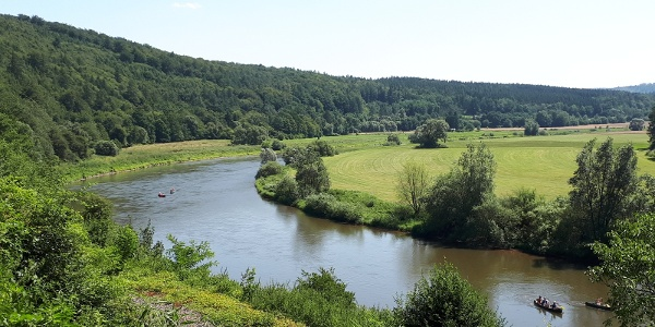 Der Weser-Radweg