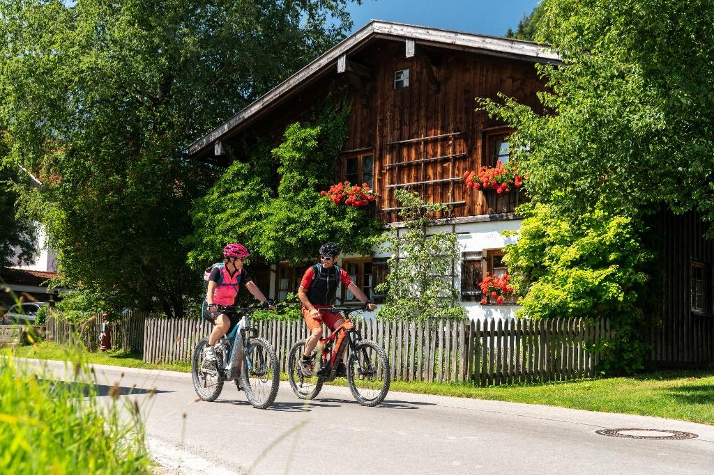 E-Bike Tour in Pfronten - @ Autor: Simon Toplak - © Quelle: Pfronten Tourismus