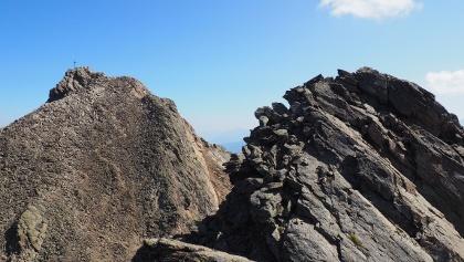Blankahorn 3129m, Blick zum Hohen Riffler